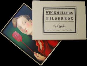Bilderbox 2 mit Karten von Ölgemälden von Thilo Weckmüller