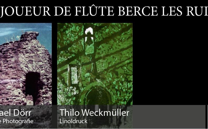 Vernissage am 11.10.2020 mit Michael Dörr und Thilo Weckmüller in der Bar Jeder sicht