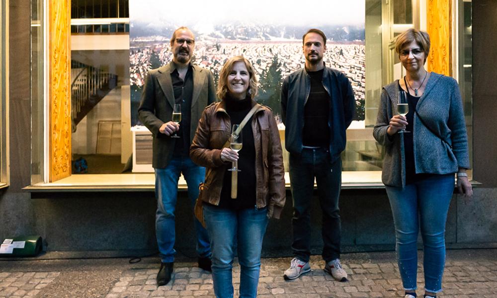 Ausstellung mit Erik Porstmann, Pia Schelenz und Thilo Weckmüller Oktober 2020