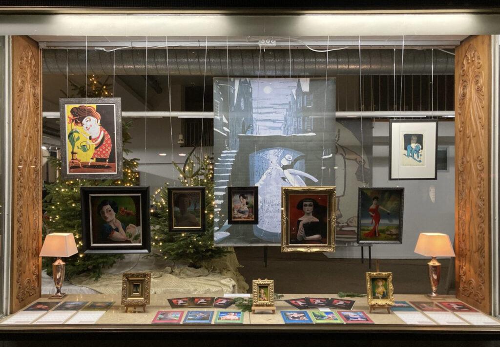 »Die Vitrine« Mainz  Ausstellung ab 08.12.2020–17.01.2021 – Ölgemälde von Thilo Weckmüller – Bild 2