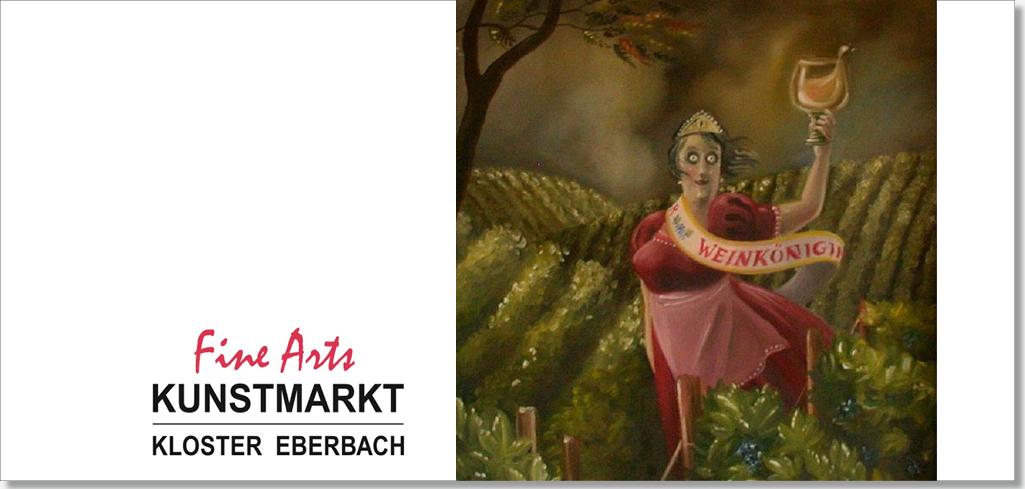 FINE ARTS – 26.+27.10. 2019 mit Bildern von Thilo Weckmüller im Kloster Eberbach