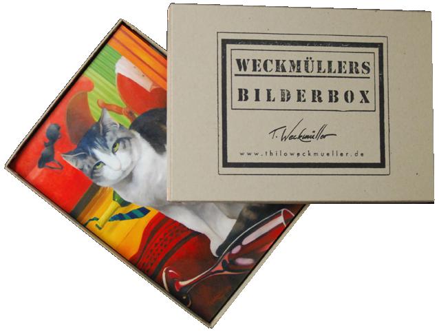 Bilderbox 1 mit Ölgemälden von Thilo Weckmüller