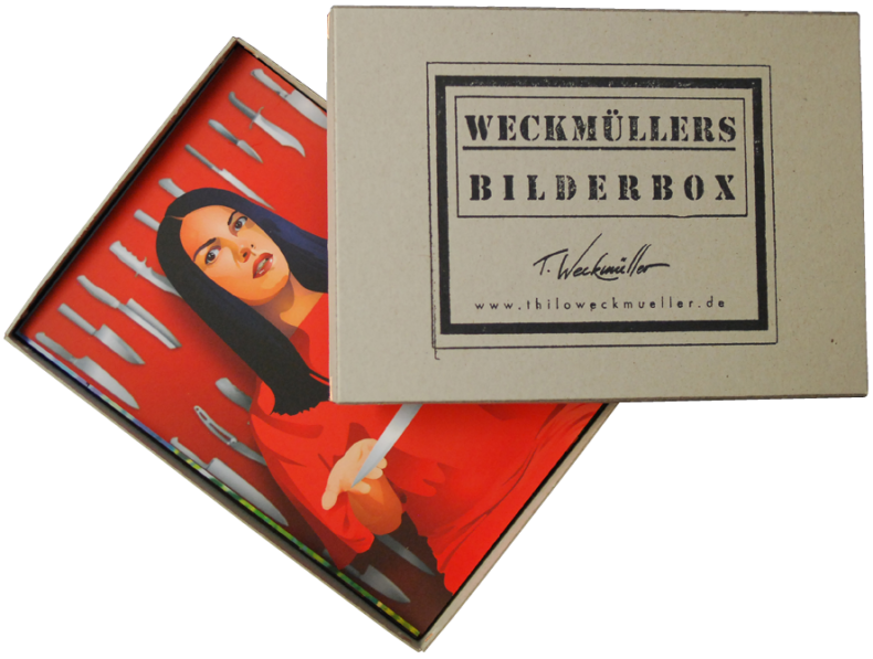 Bilderbox 3 mit 12 Grafikpostkarten von Thilo Weckmüller