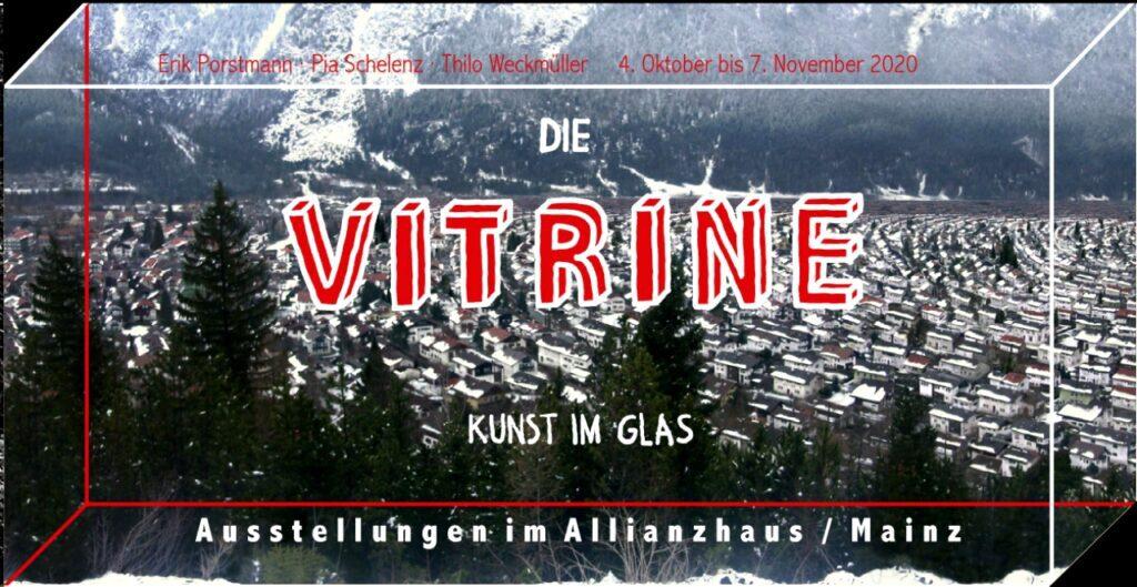 Kunst im Glas – Ausstellung Oktober in Mainz – Folder Seite 1