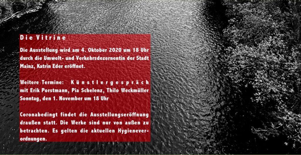 »Die Vitrine« 2 Ausstellung in Mainz Oktober bis November 2020 – Folder Seite 4